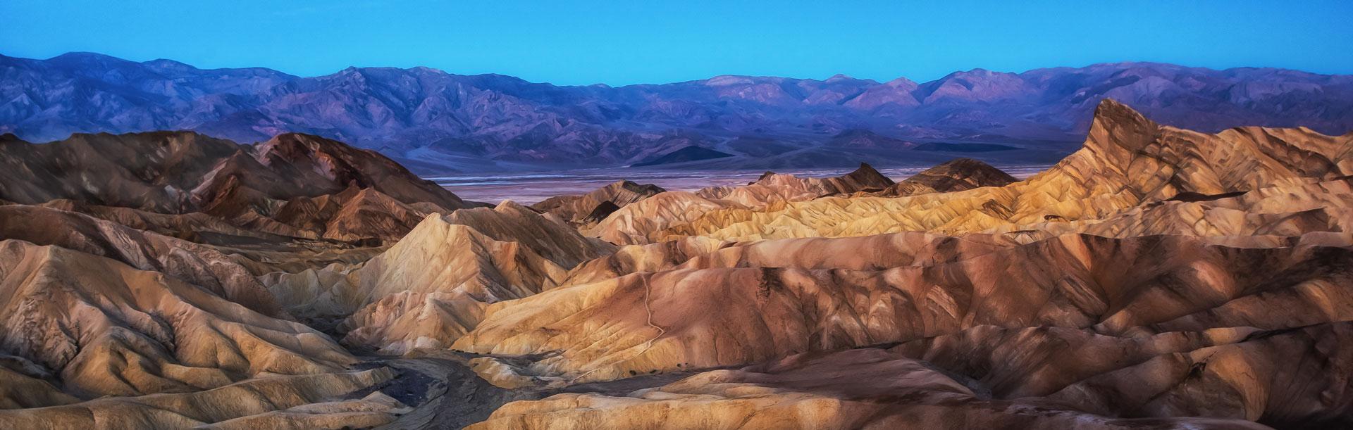 Death Valley Sunrise Panorama