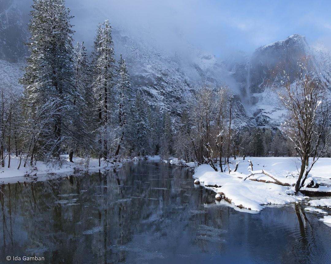 Majestic Reflections El Capitan Yosemite by Ida Gamban