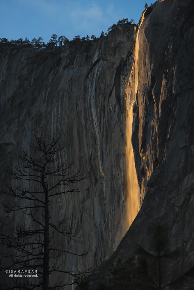 Horsetail Fall, Yosemite NP by Ida Gamban